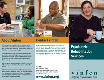 Developmental Disabilities - Vinfen