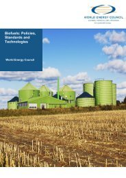 Biofuels - World Energy Council