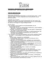 PDF Informatie werkleider 54 kB - Gemeente Lede