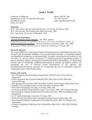 Sanjai J. Parikh - Environmental Soil Chemistry