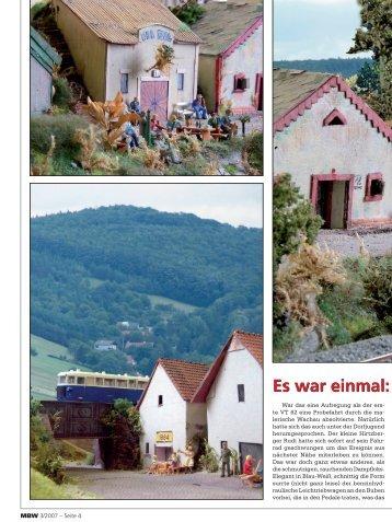 Es war einmal: Der Austro - AustroModell