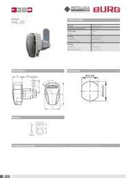 1‑205 Compression latch