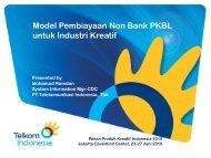 Model Pembiayaan Non Bank PKBL untuk ... - Indonesia Kreatif