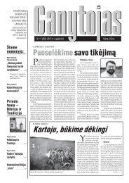 Nr. 17 (258) 2007 m. rugsėjo 8 d. - Krikščionių bendrija TIKĖJIMO ...