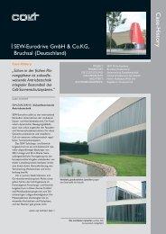 Sonnenschutzsystem, Fassadentechnik SEW-Eurodrive - Colt ...