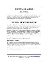 Credit Card Surcharges - MLive.com