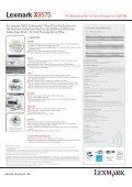 Lexmark X9575 - Seite 2