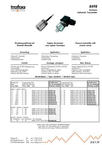 Ecotrans Industrial Transmitter - Marktechnical.nl