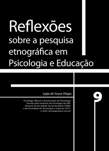 sobre a pesquisa etnográfica em Psicologia e ... - Faculdade Social