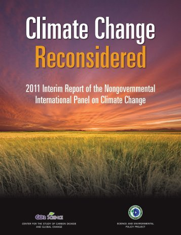 2011 Interim Report of the Nongovernmental International ... - NIPCC
