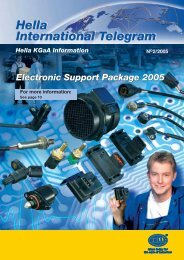 Electronic Support Package 2005 - Hella