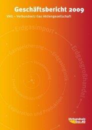 Geschäftsjahr 2009 - Verbundnetz Gas AG