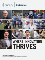 Engineering Faculty's 2012-2013 Year in Review - Faculty of ...
