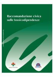 Raccomandazione civica sulle tossicodipendenze - FeDerSerd