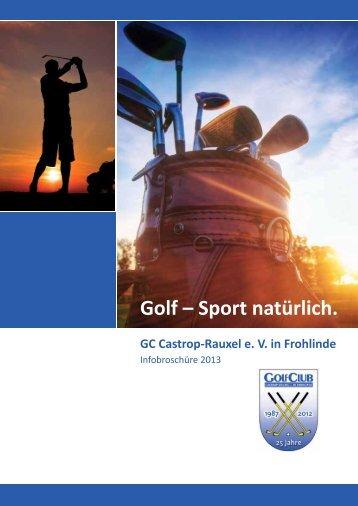 herunterladen. - Golfclub Castrop-Rauxel e.V. in Frohlinde
