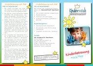 Kinderreich - Ausbildung in Teilzeit