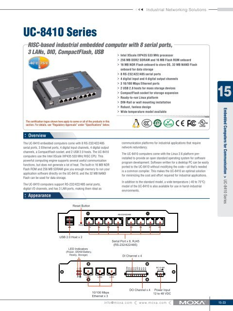 Moxa UC-7408-CE Download Drivers