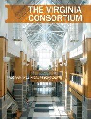 The Virginia ConsorTium - College of Sciences - Old Dominion ...