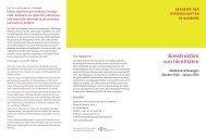 Programm dieser Reihe als PDF herunterladen - Akademie der ...