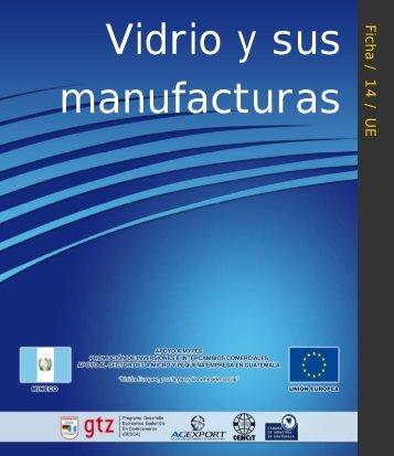 Vidrio y sus manufacturas