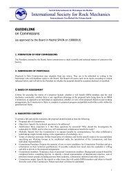 Guideline on Commissions - ISRM