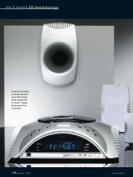 Test & Technik DVD-Komplettanlage