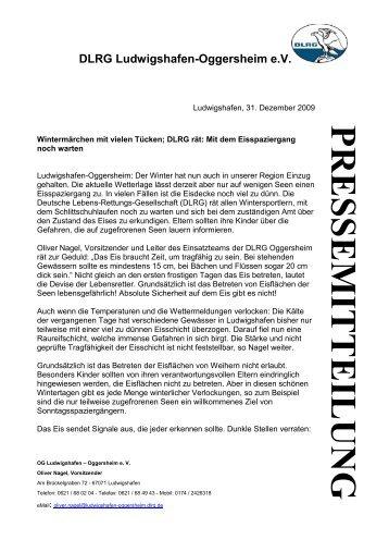 pre sse m it te il ungpre sse m it te il ung - DLRG - Ludwigshafen ...