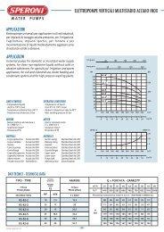 elettropompe verticali multistadio acciaio inox - Consolidated Pumps