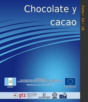Ficha54. Chocolate y Cacao