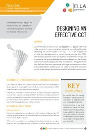 DESiGninG An EFFEctivE cct - Grupo de Análisis para el Desarrollo ...