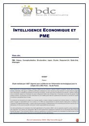 Intelligence économique et PME - Base de connaissance AEGE