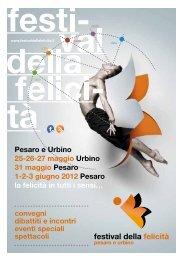 Programma Festival - Il Portale Regionale della Cultura