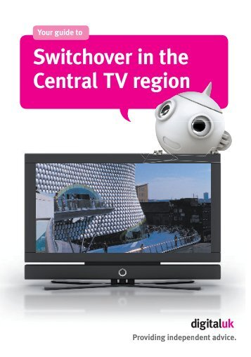 Switchover in the Central TV region - AV:ACTIV