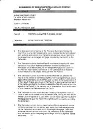 Submission To The Equity Court 8th June 2007.pdf - Love for Life