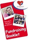 Fundraising Booklet - Little Hearts Matter