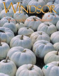 There's a lot to do in Windsor! - Town of Windsor