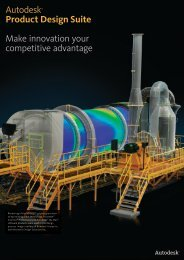 Autodesk® Product Design Suite Make innovation your competitive ...