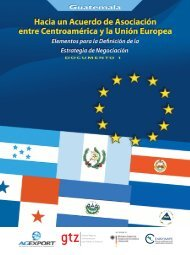 Hacia un Acuerdo de Asociación entre Centroamérica y la Unión ...