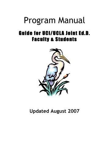 1. Manual of