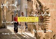 Magazine Touristique Vaucluse - Un coin Tranquille en Provence L ...