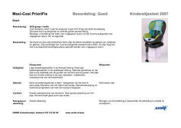 maxi cosi rodi sps beoordeling redelijk kinderzitjestest. Black Bedroom Furniture Sets. Home Design Ideas