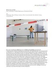 Dokumentation der Ausstellung als PDF zum Download