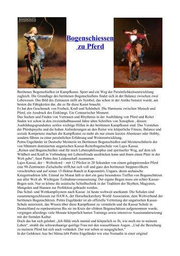 Bogenschiessen zu Pferd - Finca La Maya