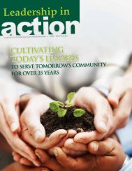 cultivating today's leaders - Chamber of Commerce of St. Joseph ...