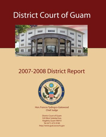 200 Report BackCover-FrontCover.ai - District Court of Guam