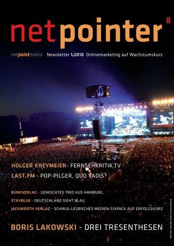 BORIS LAKOWSKI - DREI TRESENTHESEN - Netpoint Media