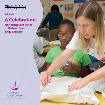 Celebration Honoring Excellence in Outreach and Engagement