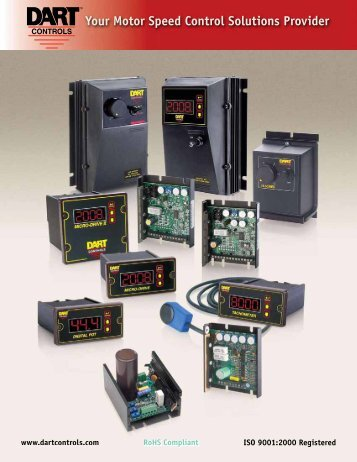 Your Motor Speed Control Solutions Provider - Dart Controls