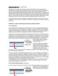 DISQUES COMPACTS – Jacques Delattre - CARA IBM