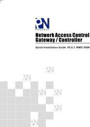 Network Access Control Gateway / Controller - WiFi Shop